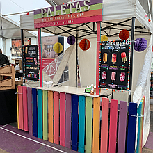Paletas Ice Cream Cart