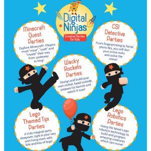 Digital Ninjas Scotland Children Entertainment