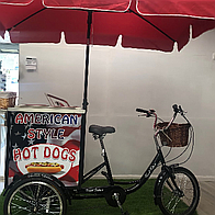 Treat Trikes Popcorn Cart