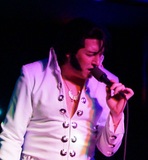 James Burrell as Elvis Presley - Tribute Band Singer Impersonator or Look-a-like  - Exeter - Devon photo