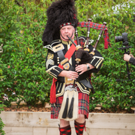 Pipe Major Graham Waller Bagpiper