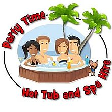 Party Time Hot Tub and LED Bar Hire Event Equipment