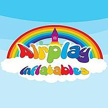 Airplay Inflatables Bouncy Castle
