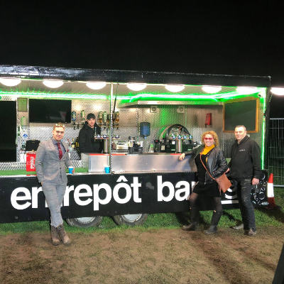 Entrepot Bar Mobile Bar