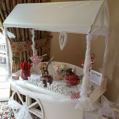 Sweety Delights Sweets and Candies Cart