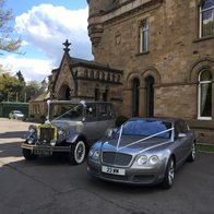 White Diamond Vintage & Classic Wedding Car