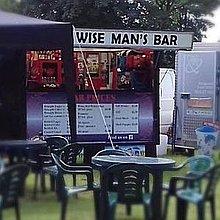 Wise Man's Bar Mobile Bar