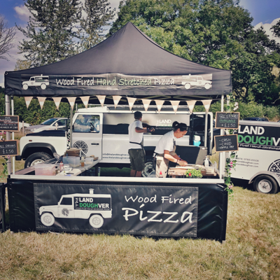 The Land Doughver Pizza Van