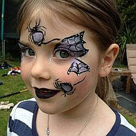 Harlequins Face Painting and Body Art Children Entertainment