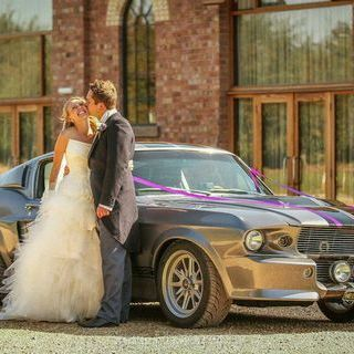 American Muscle Car Hire Wedding car