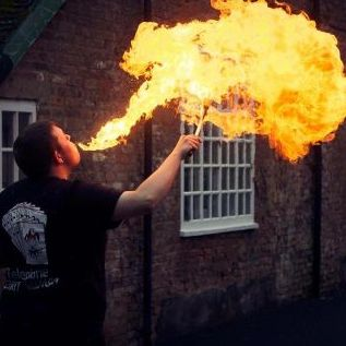 John Aubrey Entertainment Fire Eater