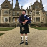West Country Bagpiper Solo Musician