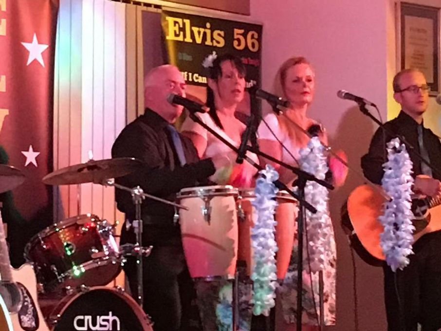 Elvis 56 Solo Show  or with  his own band The if I Can Dream Band - Tribute Band  - Yeovil - Somerset photo