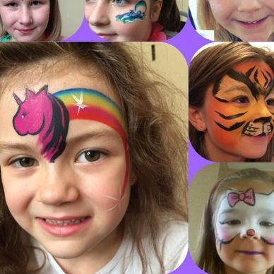 Cosmic Faerie Face Painting Children Entertainment