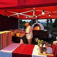 Mammas Woodfired Pizza Pizza Van