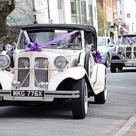 His & Hers Wedding Cars Ltd Wedding car