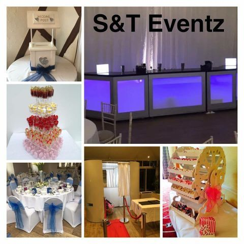 S&T Eventz Sweets and Candies Cart