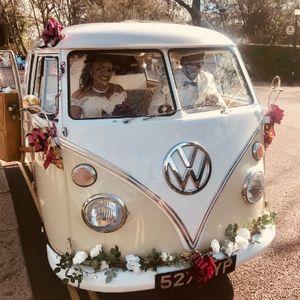 V-DUB Rides Vintage & Classic Wedding Car