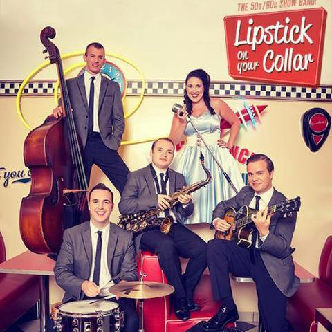 Lipstick On Your Collar Wedding Music Band