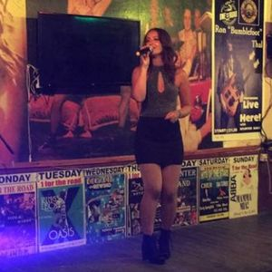 Paige Summer Singing Waiters