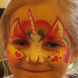 Mirror Mirror facepainting Face Painter