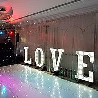 Wedding DJ NI Projector and Screen