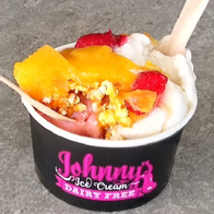 Johnnys Dairy Free Ice Cream Ice Cream Cart