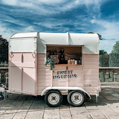 Sweet Nothing Bakehouse Ice Cream Cart