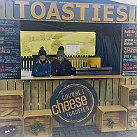 Gourmet Cheese Toasties Private Party Catering