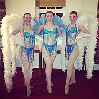 Viva Las Vegas Showgirls Dance Act