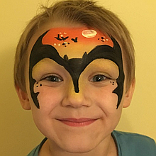 D Kat Face Painting Children Entertainment