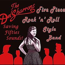 The Del Sharrons Rock And Roll Band