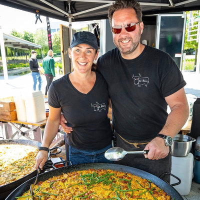 No Bull Event Caterers Paella Catering
