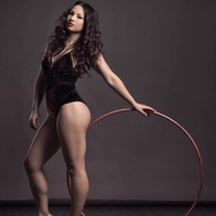 Miss Polly Hoops Burlesque Dancer