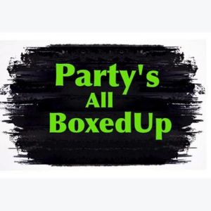 Party's All BoxedUp Mobile Bar