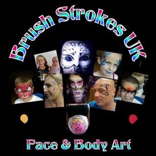 Brush Strokes Face & Body Art Face Painter