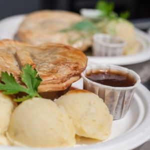 Uncles Pie and Mash Dinner Party Catering