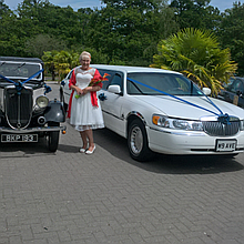 Hi-Profile Limousines & Wedding Cars Wedding car