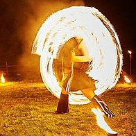 Juggling Inferno Fire Eater