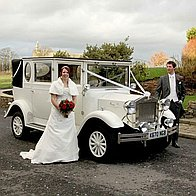 Classic Wedding Limousines Wedding car
