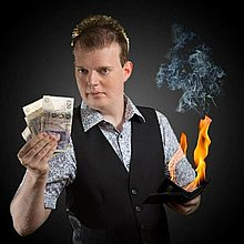 Paul Dawson Magic Table Magician
