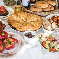 Phipie Greek Food Dinner Party Catering
