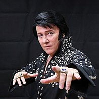 Elvis Tribute Gary Graceland Impersonator or Look-a-like
