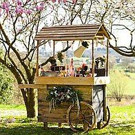 The Dorset Cart Company Popcorn Cart