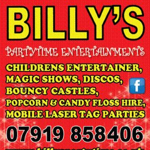 Billy's Partytime Entertainments Children's Magician