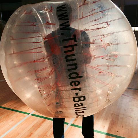 Thunderballz Zorb Football