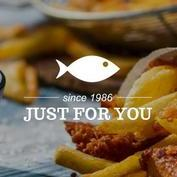 Just for you fish and chips Fish and Chip Van