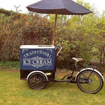 Retro Scoops Ice Cream Cart