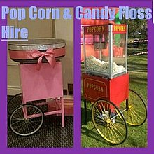 Popcorn Hire (Shenley) Popcorn Cart