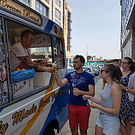 Mr Whippy Bristol Ice Cream Cart